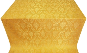 Small Tavriya metallic brocade (yellow/gold)