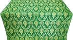 Small Tavriya metallic brocade (green/gold)