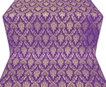 Small Tavriya metallic brocade (violet/gold)