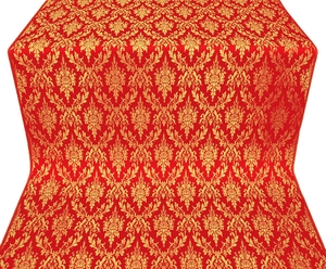 Small Tavriya metallic brocade (red/gold)