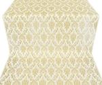 Small Tavriya metallic brocade (white/gold)