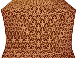 Venets metallic brocade (claret/gold)