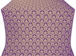 Venets metallic brocade (violet/gold)