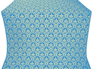 Venets silk (rayon brocade) (blue/gold)