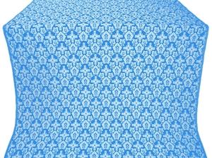 Venets silk (rayon brocade) (blue/silver)