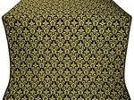 Venets silk (rayon brocade) (black/gold)