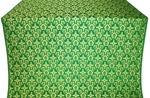 Venets silk (rayon brocade) (green/gold)