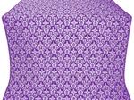 Venets silk (rayon brocade) (violet/silver)