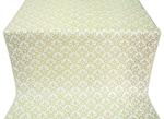 Venets silk (rayon brocade) (white/gold)