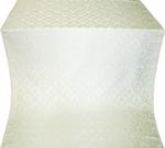 Venets silk (rayon brocade) (white/silver)