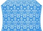 Fevroniya metallic brocade (blue/silver)