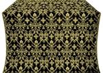 Fevroniya metallic brocade (black/gold)