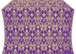 Fevroniya metallic brocade (violet/gold)