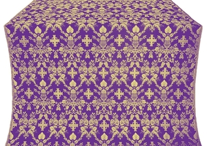 Fevroniya metallic brocade (violet/gold)