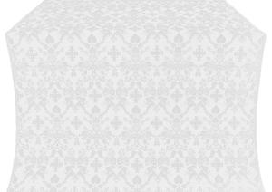 Fevroniya metallic brocade (white/silver)