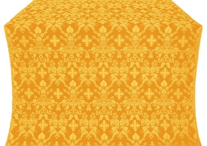 Fevroniya silk (rayon brocade) (yellow/gold)