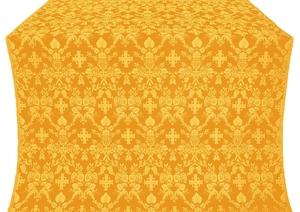 Fevroniya silk (rayon brocade) (yellow/gold)