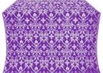 Fevroniya silk (rayon brocade) (violet/silver)