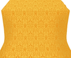 Ligouriya metallic brocade (yellow/gold)