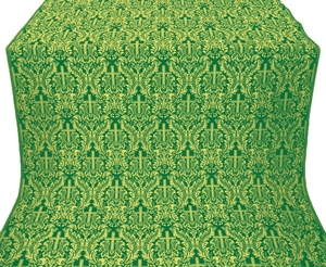 Ligouriya metallic brocade (green/gold)