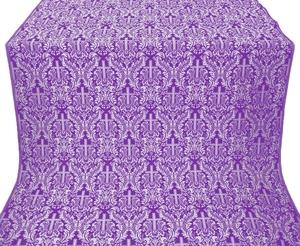Ligouriya metallic brocade (violet/silver)