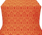 Ligouriya metallic brocade (red/gold)
