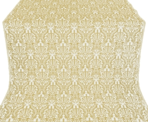 Ligouriya metallic brocade (white/gold)