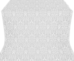 Ligouriya metallic brocade (white/silver)