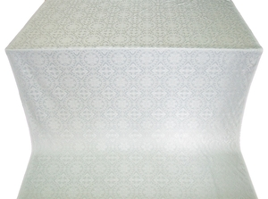 Salim metallic brocade (white/silver)
