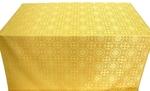 Salim silk (rayon brocade) (yellow/gold)
