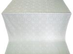 Salim silk (rayon brocade) (white/silver)