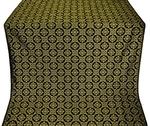Poutivl' metallic brocade (black/gold)