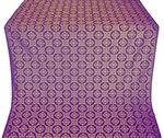 Poutivl' metallic brocade (violet/gold)