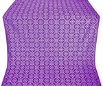 Poutivl' silk (rayon brocade) (violet/silver)