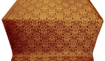 Klionik metallic brocade (claret/gold)