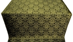 Klionik metallic brocade (black/gold)