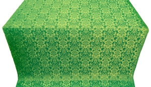 Klionik metallic brocade (green/gold)