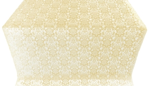 Klionik metallic brocade (white/gold)