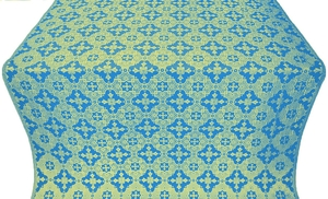 Piligrim metallic brocade (blue/gold)