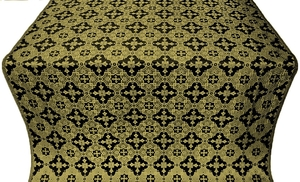 Piligrim metallic brocade (black/gold)