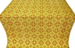 Piligrim metallic brocade (yellow/gold)