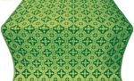 Piligrim metallic brocade (green/gold)