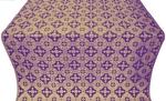 Piligrim metallic brocade (violet/gold)