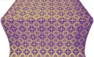 Piligrim metallic brocade (violet/gold)