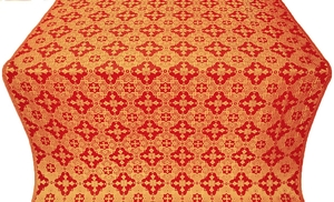 Piligrim metallic brocade (red/gold)