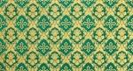 Nativity metallic brocade (green/gold)