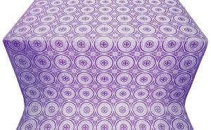 Samara metallic brocade (violet/silver)