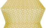 Samara metallic brocade (white/gold)