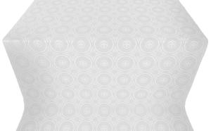 Samara metallic brocade (white/silver)