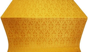 Slavic metallic brocade (yellow/gold)